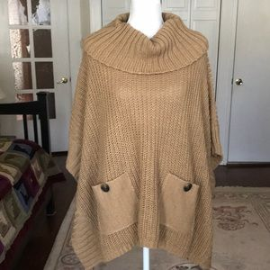 Neiman Marcus Poncho with pockets